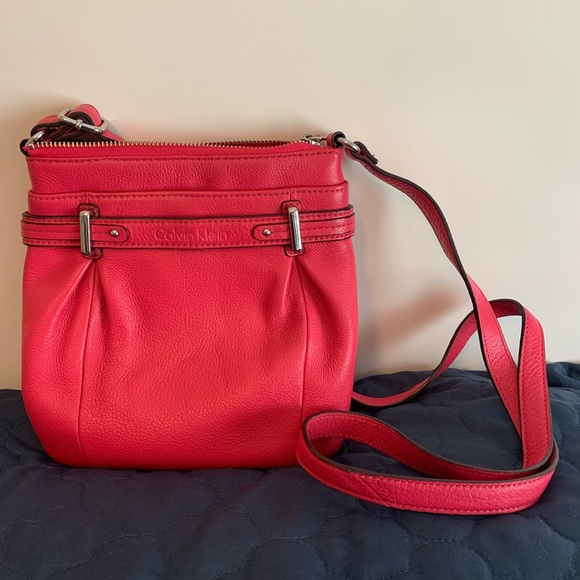 Pink Calvin Klein Crossbody Bag
